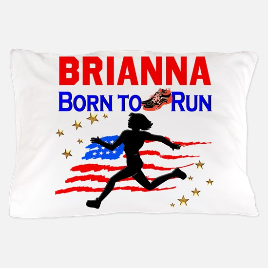 PERSONALIZE RUNNER Pillow Case