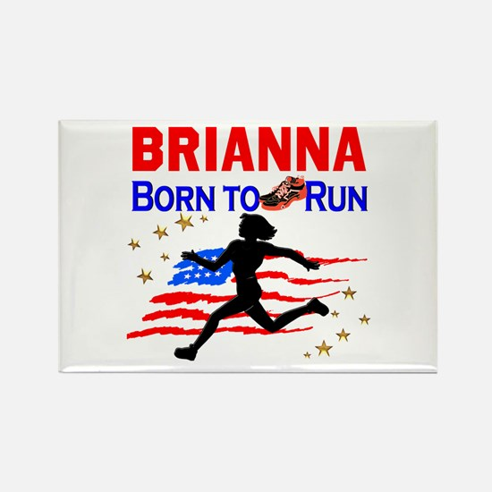 PERSONALIZE RUNNER Rectangle Magnet
