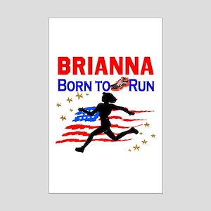 PERSONALIZE RUNNER Mini Poster Print