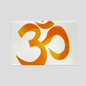 Orange Om Magnets