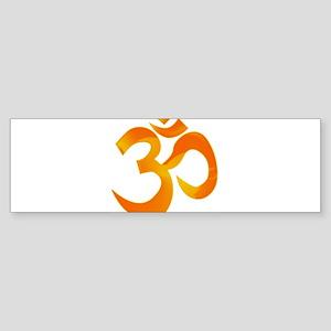 Orange Om Bumper Sticker