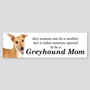 Greyhound Mom Bumper Sticker