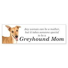 Greyhound Mom Bumper Sticker