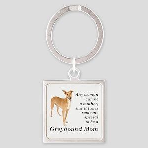 Greyhound Mom Keychains
