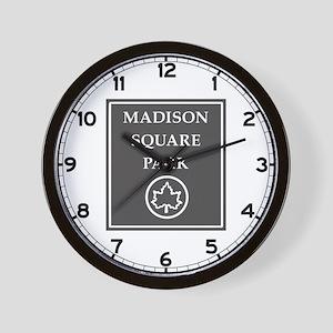 Riverside Park, NYC - USA Wall Clock