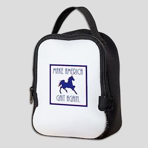 GAITED HORSE - Make America Gai Neoprene Lunch Bag