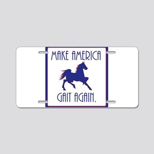 GAITED HORSE - Make America Aluminum License Plate