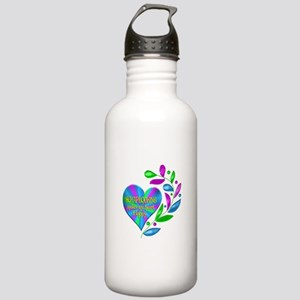 Scrapbooking Happy Hea Stainless Water Bottle 1.0L