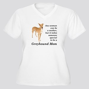 Greyhound Mom Plus Size T-Shirt