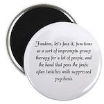 'Fanfic Psychosis' Magnet