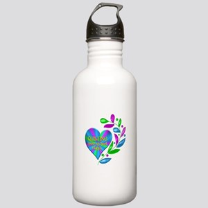 Quilting Happy Heart Stainless Water Bottle 1.0L