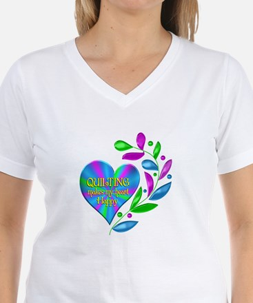 Quilting Happy Heart Shirt