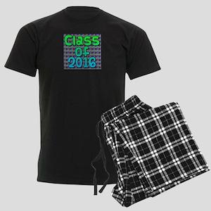 Class of 2016 - on bright swir Men's Dark Pajamas