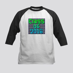 Class of 2016 - on bright swirls Baseball Jersey