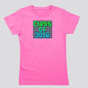 Class of 2016 - on bright swirls Girl's Tee