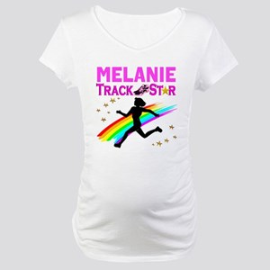 PERSONALIZE RUNNER Maternity T-Shirt