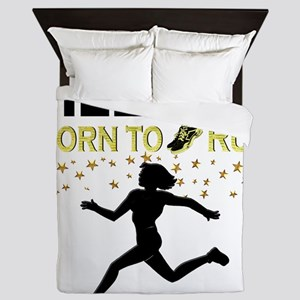 PERSONALIZE RUNNER Queen Duvet