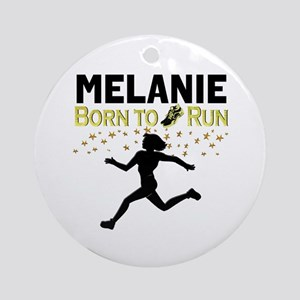 PERSONALIZE RUNNER Round Ornament
