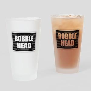 Bobble Head Drinking Glass