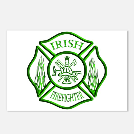 Irish Firefighter Postcards (Package of 8)
