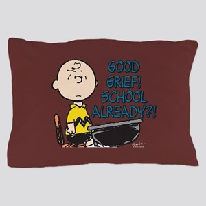 Charlie Brown - Good Grief! School Alr Pillow Case