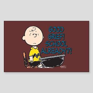 Charlie Brown - Good Grief! Sc Sticker (Rectangle)