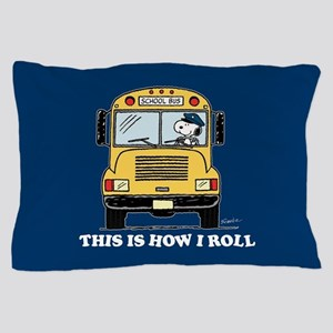 Snoopy - This Is How I Roll Pillow Case