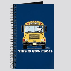 Snoopy - This Is How I Roll Journal