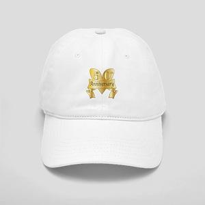 50th Anniversary Heart Cap