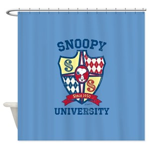 Snoopy Shower Curtains Cafepress