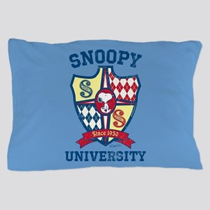 Snoopy University Pillow Case
