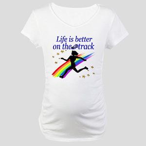 TRACK STAR Maternity T-Shirt