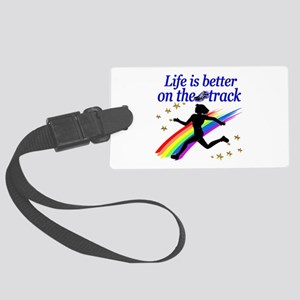 TRACK STAR Large Luggage Tag