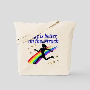 TRACK STAR Tote Bag