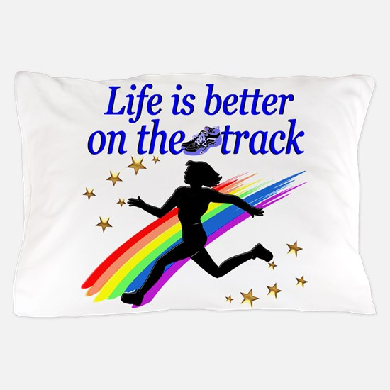 TRACK STAR Pillow Case