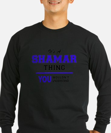 It's SHAMAR thing, you wouldn' Long Sleeve T-Shirt