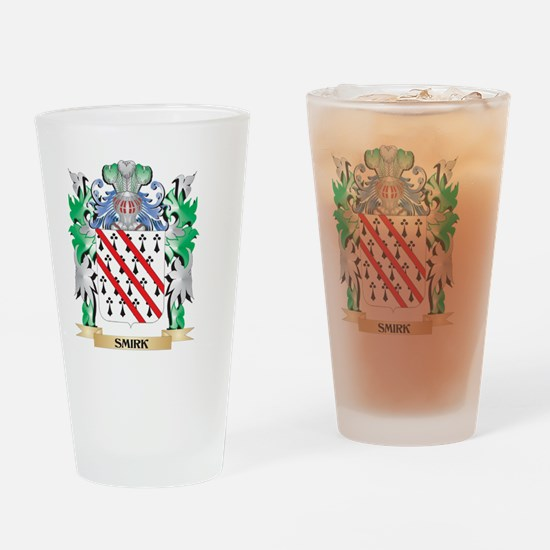 Smirk Coat of Arms - Family Crest Drinking Glass