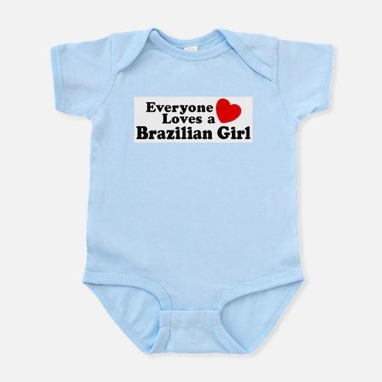 Everyone Loves a Brazilian Gi Infant Bodysuit