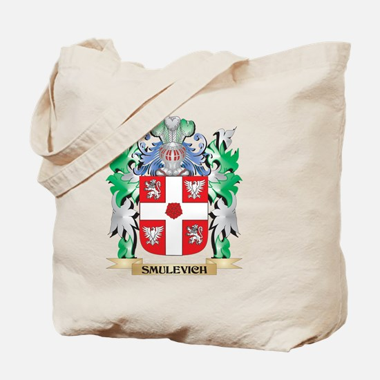 Smulevich Coat of Arms - Family Crest Tote Bag