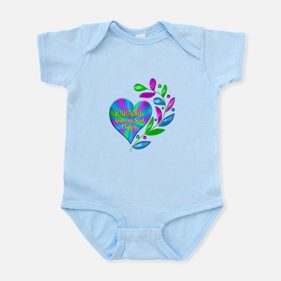 Karaoke Happy Heart Infant Bodysuit