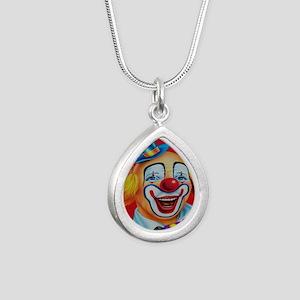 Silver Teardrop Necklace