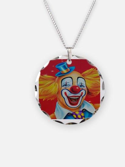 Funny No clowns Necklace