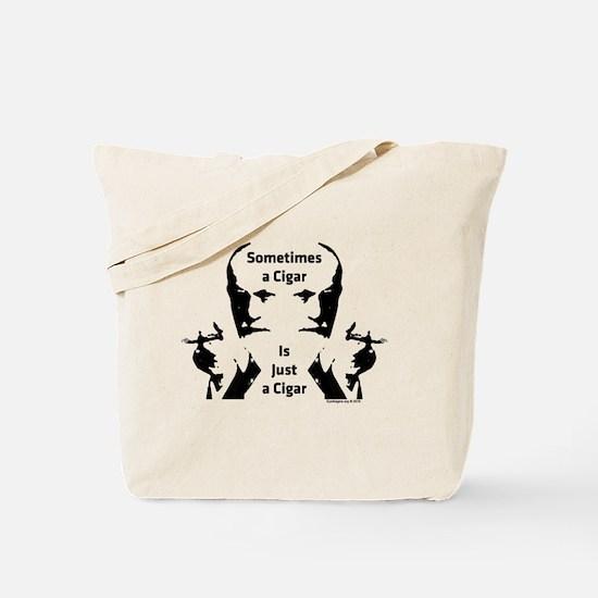 Cute Sigmund freud Tote Bag