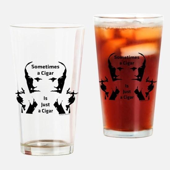 Funny Psychiatry Drinking Glass