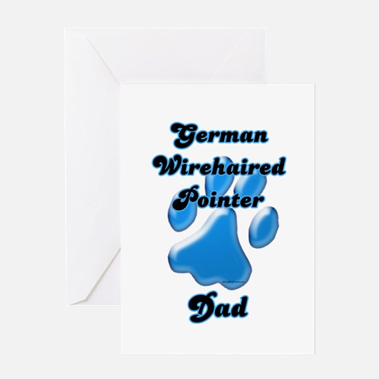 Wirehaired Dad3 Greeting Card