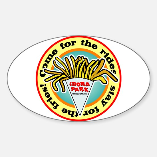 Idora Fries Oval Decal