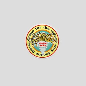 Idora Fries Mini Button
