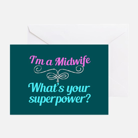 Super Midwife Greeting Cards (Pk of 20)
