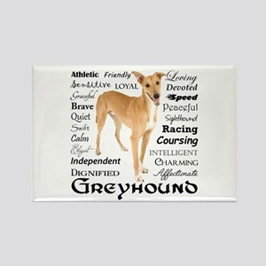 Greyhound Traits Magnets