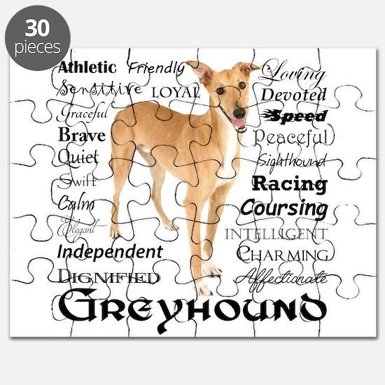 Greyhound Traits Puzzle